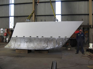 Langan 84 Ft Sloop Fabricated Keel and 14T Bulb