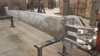 80 ft Keel CNC Milled Forged Steel Solid Style