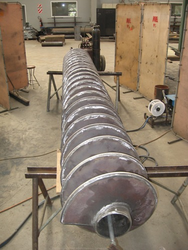 Steam Jacketed Auger